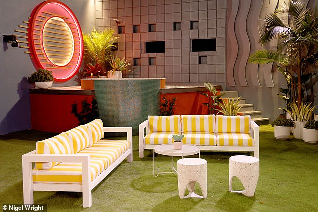 Decor: Designers re-dressed furniture and set pieces from previous seasons of Big Brother