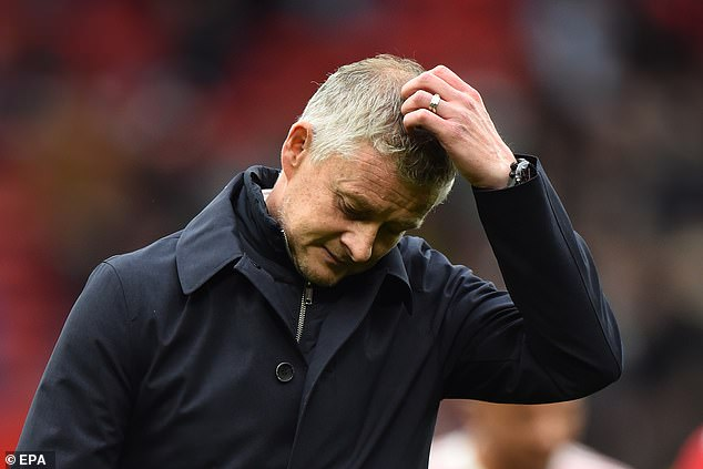 Ole Gunnar Solskjaer has faced questions after just two wins in his last six matches in charge