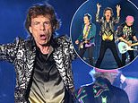 The Rolling Stones put on energetic display as they perform to huge crowd in Nashville