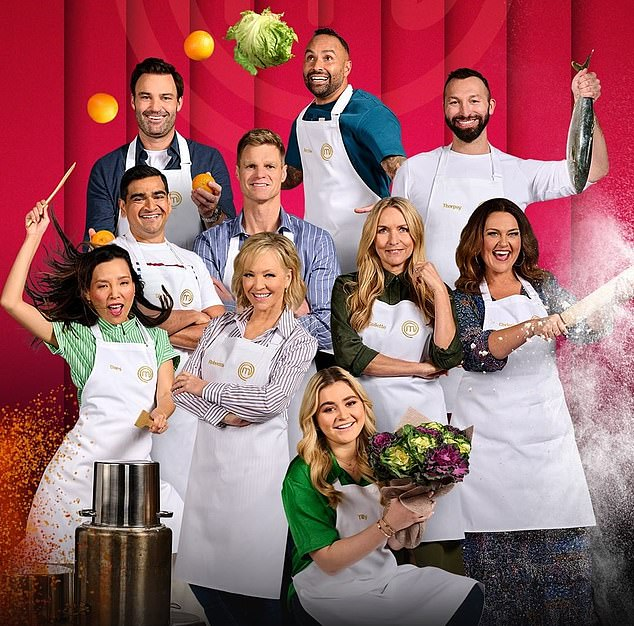 Exciting:Celebrity MasterChef Australia continues Monday at 7.30pm on Channel Ten