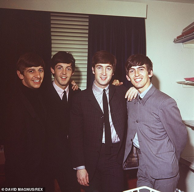 Keeping quiet: Paul noted that after their split had been agreed then-manager Allen Klein 'told them to keep quiet about it so he could conclude some business deals' (pictured in 1963)