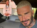 David Beckham shows pride for daughter Harper as she wins silver medal in Judo competition