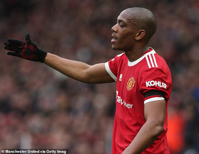 Martial is another player that could walk out the door this winter. The 25-year-old struggled to make an impact last season after falling out of form under the United manager
