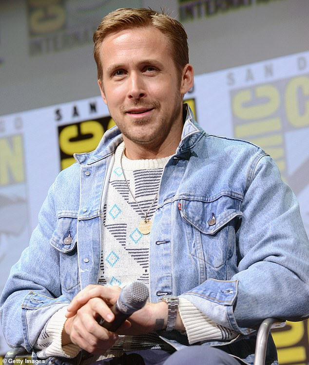 'It was a tough time for them': Ryan Gosling has revealed how quarantine impacted his two children and the symbolic gift his partner of 10 years, Eva Mendes, got him for his very first Father's Day in 2014; pictured 2017