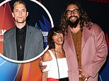 Ed Skrein and Jason Momoa attend the screening of Mona Lisa and the Blood Moon at the LFF