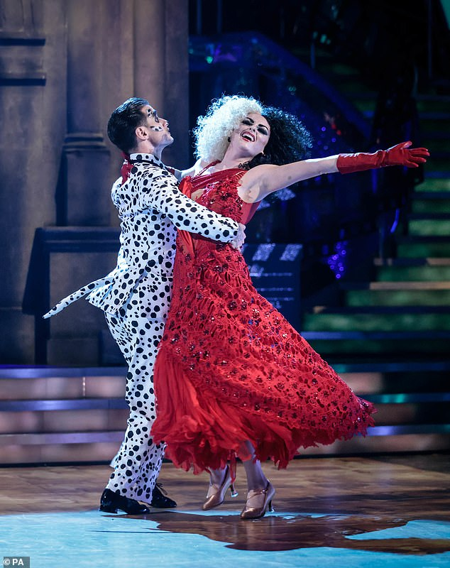 Out!Katie McGlynn and her professional dance partner Gorka Marquez are the second couple to be eliminated from this year's Strictly Come Dancing