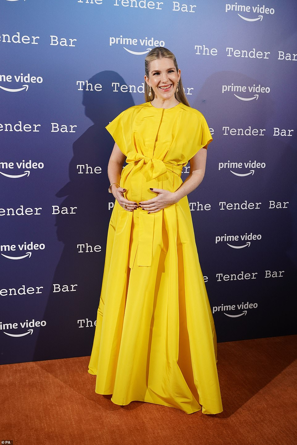 Wow!Lily Rabe was in attendance at the photocall for her latest picture The Tender Bar at the Nomad Hotel on Sunday during the BFI London Film Festival
