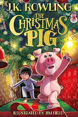 The Christmas Pig by J.K. Rowling (pictured) will be published tomorrow