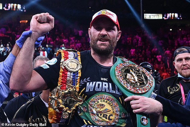 Tyson Fury declares himself 'the best heavyweight of his era' after his disastrous win