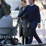 Beaming Beatrice takes it all in her stride: Princess is pictured loving motherhood 💥👩💥