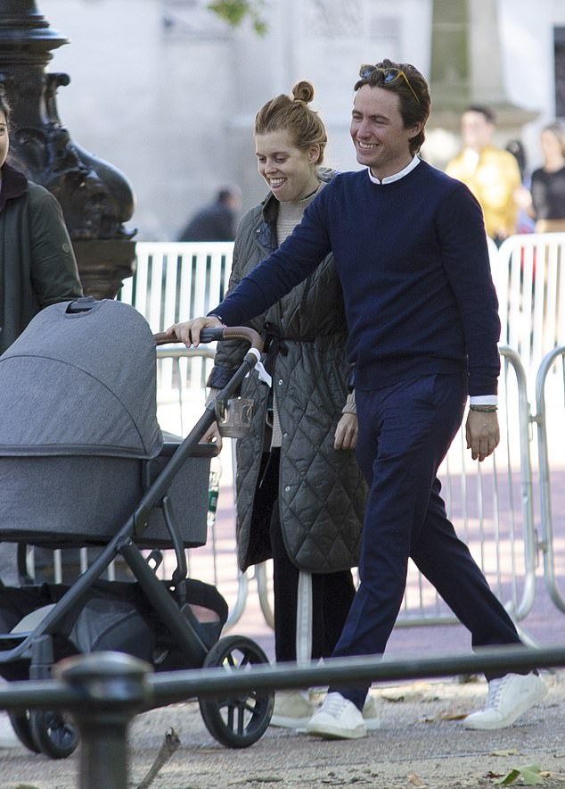 , Beaming Beatrice takes it all in her stride: Princess is pictured loving motherhood, The Today News USA