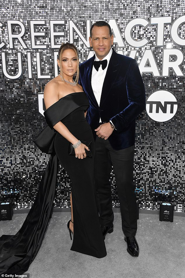 The former couple was snapped in 2020 in LA at the SAG Awards