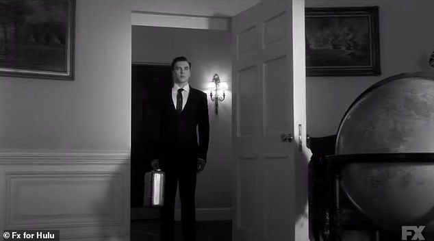 Man in black:On Sunday, FX unveiled the teaser for episode nine - titled 'Blue Moon' of American Horror Story: Double Feature, which airs this Wednesday