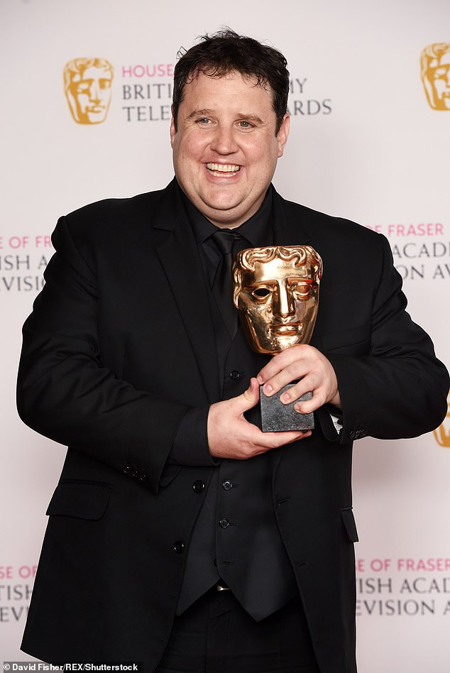 Hilarious: 'I've never had a standing ovation in my life when I arrived,' says comic, before joking: 'I'm going to be away for four more years' (pictured in 2016)