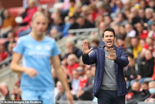 Gareth Taylor was on the edge of being sacked as Manchester City fell behind at rivals United