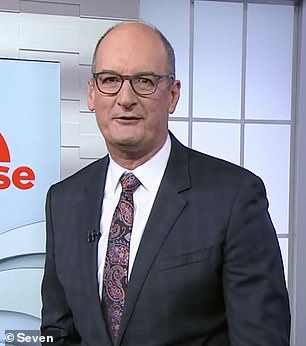 Journo fight: David 'Kochie' Koch (pictured) has responded to Barrie Cassidy's attack on his interview with Prime Minister Scott Morrison