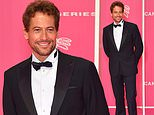 Ioan Gruffudd cuts a suave figure and a sun-kissed tan as he arrives at the Canneseries Festival