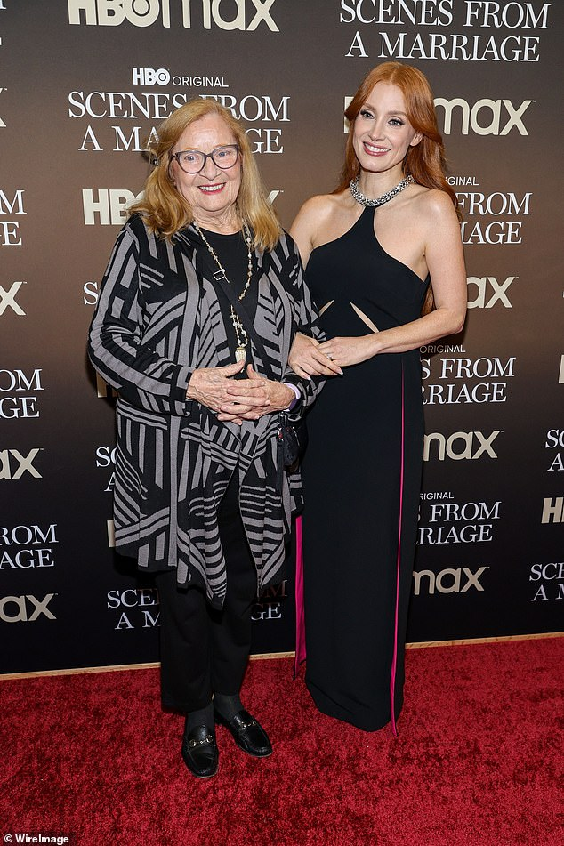 Supportive family: Jessica and her mom Jerri Chastain pictured together