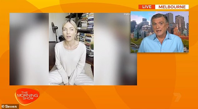 'Just to be sure she's okay': Entertainment reporter Peter Ford shared an update on Sam's wellbeing during an appearance on The Morning Show on Monday. He revealed that members of the Home And Away cast had reached out to the actress amid concerns for her wellbeing