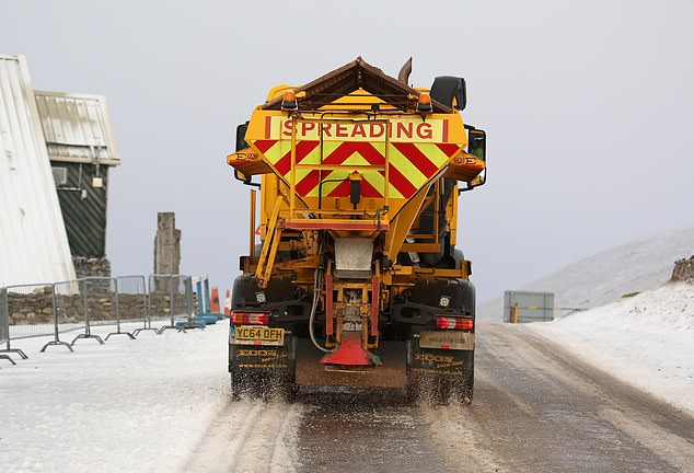 Britain's roads could be more dangerous than usual this winter because of a potential shortage of gritter drivers