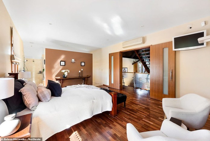 The master bedroom is completely luxurious and isis complete with a dressing room, built-in wardrobes and heavenly ensuite complete with dual vanities and a decadently deep tub