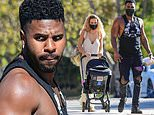 Jason Derulo and Jena Frumes step out together for lunch... two weeks after shocking split