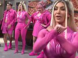 Kim Kardashian joins a pop trio with Aidy Bryant and Bowen Yang in unaired SNL sketch