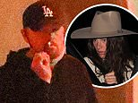 Leonardo DiCaprio, 46, and girlfriend Camila Morrone, 24, keep a low profile after dinner in LA