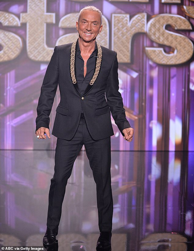 Difficulty:Tonioli had been unable to participate in the current series after travel restrictions prevented him from flying between the United Kingdom and the United States, where he also serves as judge on Dancing With The Stars