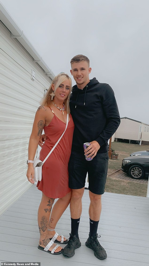 Janine Adamson, 34, from Southampton, fancied neighbour Owen Roundell-Prince, 24, for five years but given their ten year age gap felt that a romantic relationship was 'off the cards'