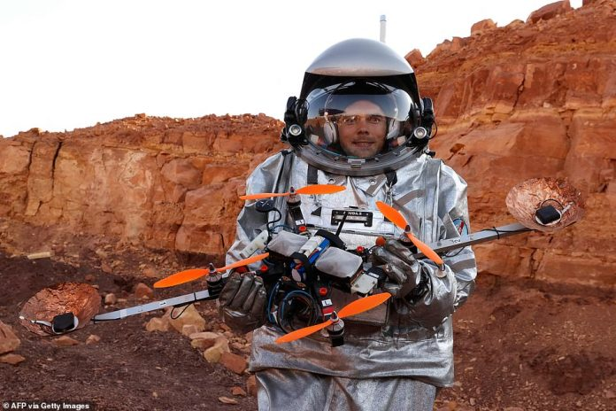 The mission will include drones, such as those being conducted by Robert Wilde, and rovers will mimic movement and exploration.