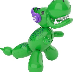 This interactive Balloon Dino will wow you as he comes to life just like a real dinosaur!