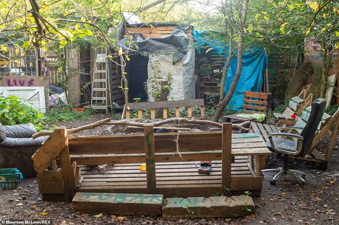 All of the site appeared to have been put together using recycled and repurpose items usually thrown away