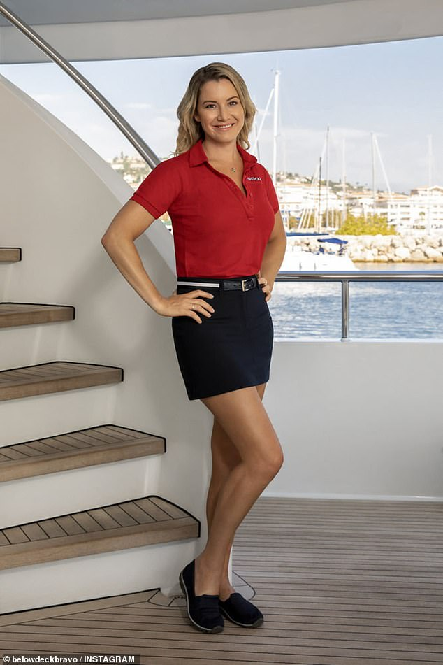 Setting sail Down Under!Meanwhile, the beloved franchise Below Deck: Down Under is setting sail to a new location as the crews say 'ahoy' in Australia. Pictured:Below Deck Mediterranean star Hannah Ferrier