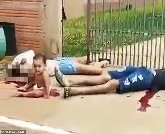 Nicolas Elias Albuquerque do Prado, 18, and Cleidiana Pereira Alixandre, 19, were allegedly shot by two men on a motorcycle in Alto Garcas, Brazil