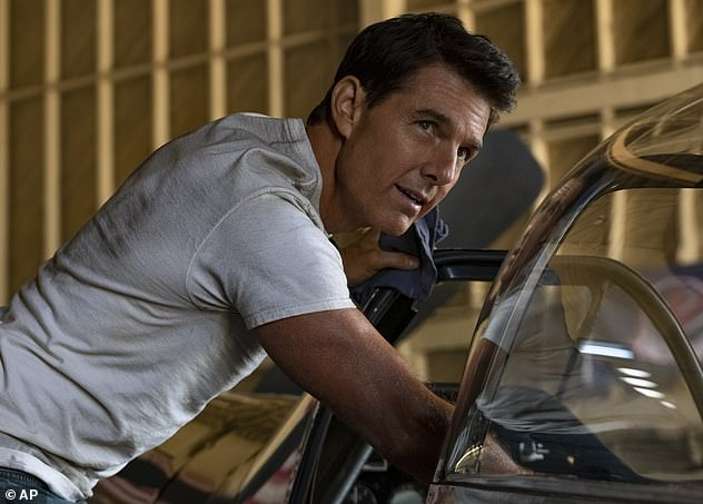 Coming soon: The Hollywood icon will next be seen in another sequel, Top Gun: Maverick, which is expected to come out in May 2022