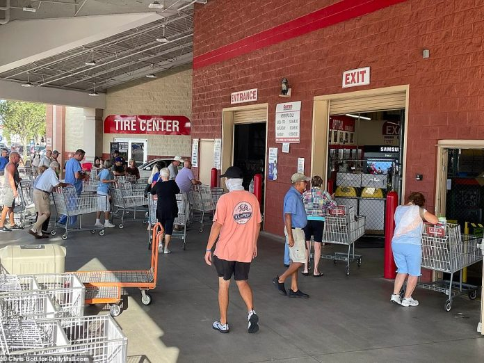 FLORIDA: While supply is backlogged, demand is soaring. Many retailers are worried they won't be able to keep up with the encroaching