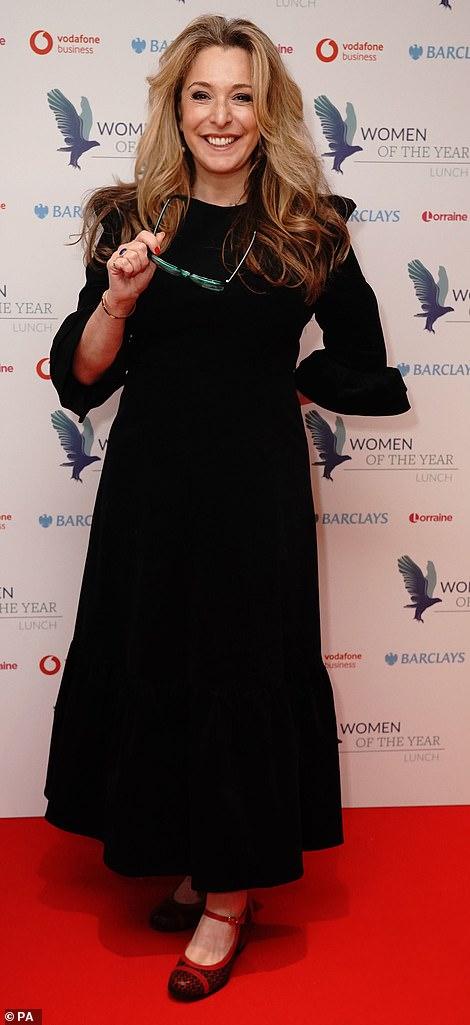 In attendance: Former EastEnders actress Tracey-Ann Oberman...