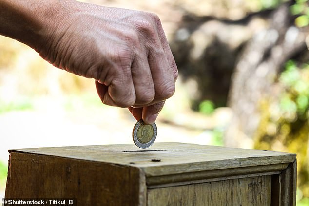 Young people are more likely to donate to international charities, while older adults prefer to give to causes within their country (stock image)
