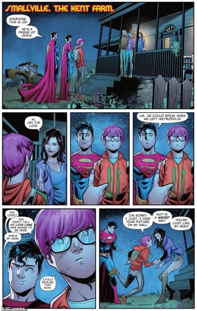 , Superman comes out as BISEXUAL: DC Comics reveals son of Clark Kent is dating a man, The Today News USA