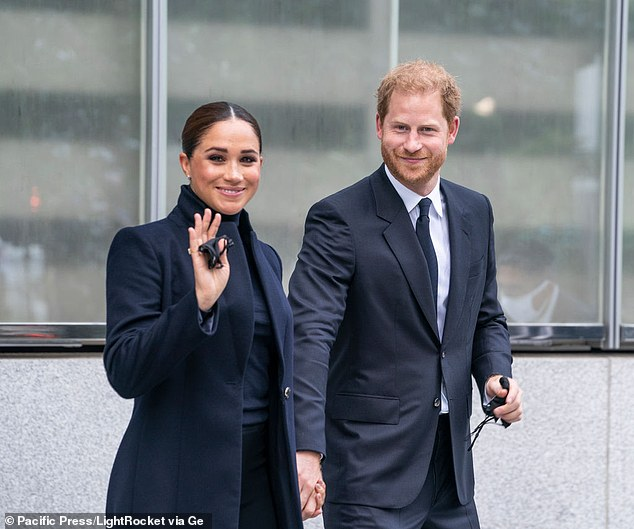 At the time of Archie's christening the duke and duchess of Sussex said they 'felt fortunate' to have enjoyed their son's christening