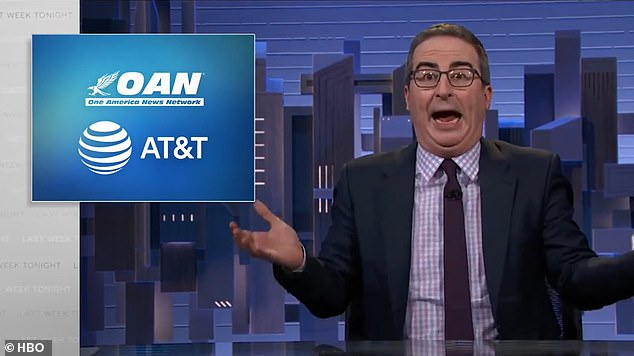 , 'You do bad things and make the world worse': John Oliver attacks his bosses for having launched OAN, Nzuchi Times National News