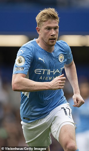 De Bruyne is now one of the best playwrights in the word with Manchester City