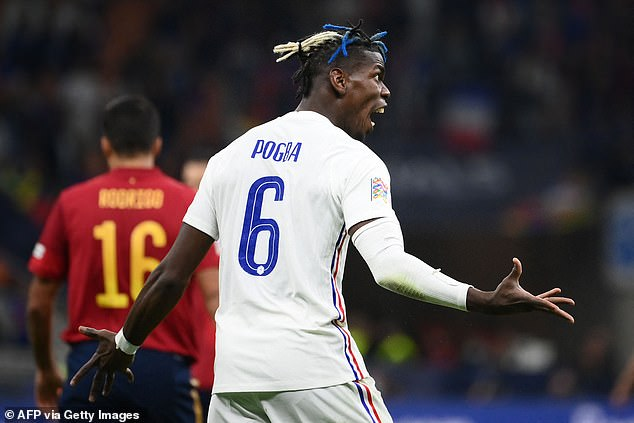 Pogba held at Les Blaes for failure to react after going behind Spain opener