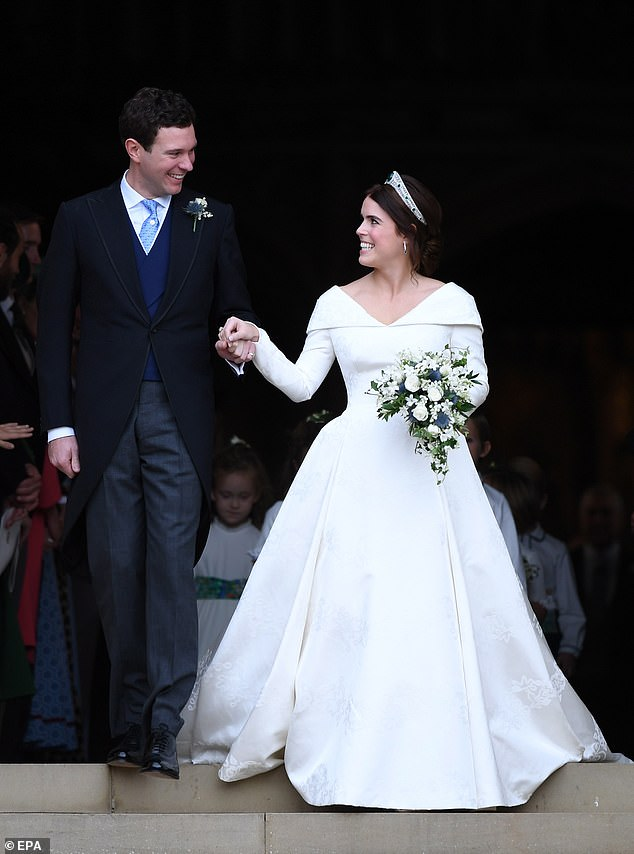 , Princess Eugenie shares unseen snap from her wedding reception, The Today News USA