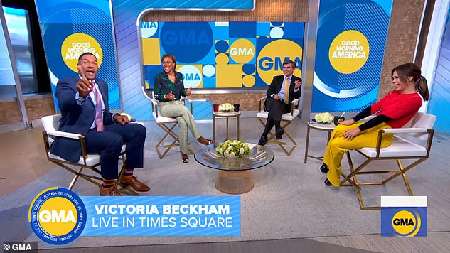 , Victoria Beckham looks chic in all-black after displaying fuller pout on GMA, The Habari News