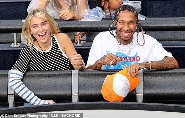 , Tyga turns himself into LAPD to face possible felony domestic violence charges against girlfriend, The Evepost National News