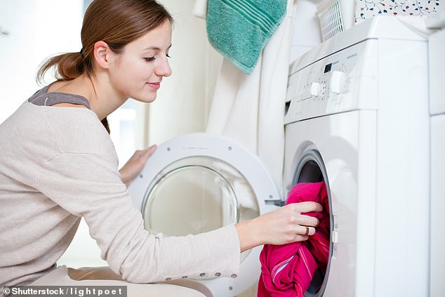 Changing the temperature by 30 degrees on the washing load can cut electricity usage by 57%