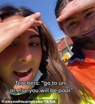 , Glamorous young traffic controller sends brutal message to her high school teachers, The Today News USA