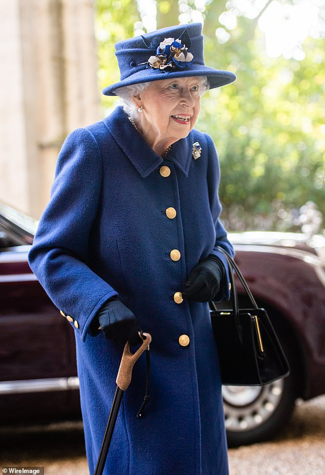 Public appearance:Today show news anchor Alex Cullen was detailing how the Queen was seen using a stick, when Karl, 47, delivered a tongue-in-cheek joke